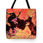 Rust And Paint - 519 Tote Bag