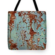 Rust And Paint Tote Bag
