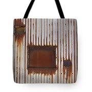 Rust And Window 3 Tote Bag