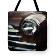 Rust-colored Chevy Tote Bag