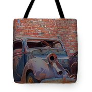 Rust In Goodland Tote Bag