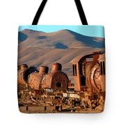Rust In Peace Tote Bag by James Brunker