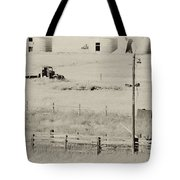 Rust Wind And Time Are Not Kind Tote Bag