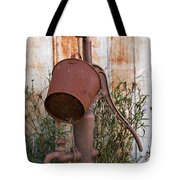 Rusted And Out Of Use Tote Bag