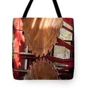 Rusted Blades Tote Bag