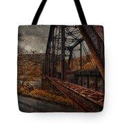 Rusted Bridge Tote Bag