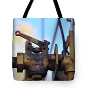 Rusted Flagg Valve Tote Bag