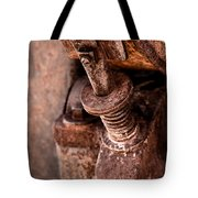 Rusted Gold Mine Equipment Tote Bag