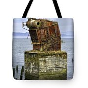 Rusted Equipment Tote Bag