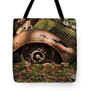 Rusted Tote Bag by Louise Heusinkveld
