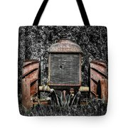 Rusted Old Tractor Tote Bag