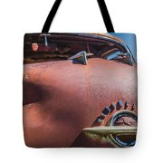 Rusted Oldsmobile Tote Bag