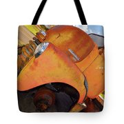 Rusted Out Chevrolet 5700 Tote Bag by Liane Wright