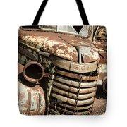 Rusted Pickup  Tote Bag