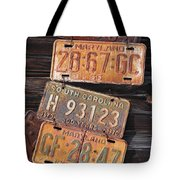 Rusted States Tote Bag