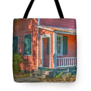 Rusted Tin Roof Tote Bag