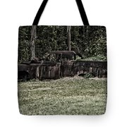 Rusted Truck Tote Bag