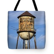 Rusted Water Tower Tote Bag