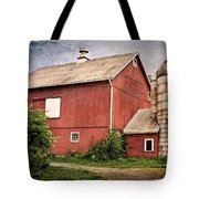 Rustic Barn Tote Bag by Bill Wakeley