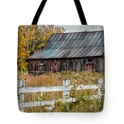 Rustic Berkshire Barn Tote Bag
