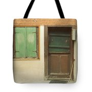 Rustic Door Tote Bag