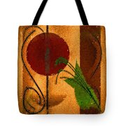Rustic Elegance Geometric Autumn Abstract Tote Bag
