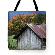 Rustic Farm Shed Tote Bag