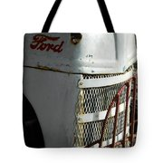 Rustic Ford Work Horse Tote Bag