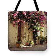 Rustic Greek Townhouse Tote Bag