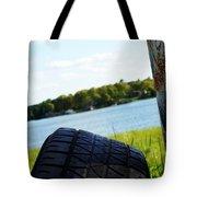 Rustic Lake Scene 1 Tote Bag