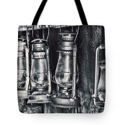 Rustic Lanterns Tote Bag