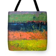 Rustic Roadside Series - Pond Tote Bag
