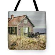 Rustic Seaside Cottage Tote Bag