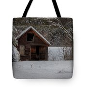Rustic Shack After The Storm Tote Bag