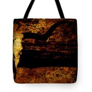 Rustic Steer Tote Bag