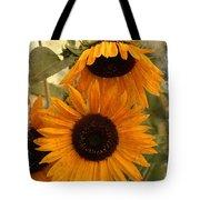 Rustic Sunflowers Tote Bag