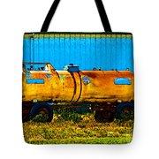 Rustic Tank Art Tote Bag