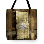Rustic Teahouse Tote Bag