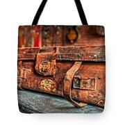 Rustic Trunk Tote Bag