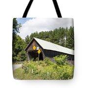Rustic Vermont Covered Bridge Tote Bag