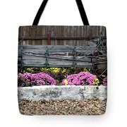 Rustic Wagon Tote Bag