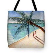 Rustling Palm Tote Bag