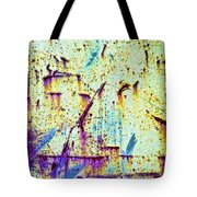 Rusty Background Tote Bag