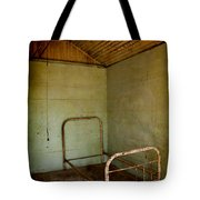 Rusty Bed Tote Bag