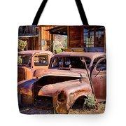 Rusty Cars  Tote Bag