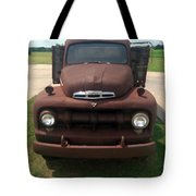 Rusty Ford Truck Tote Bag