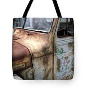 Rusty Classic Willy's Jeep Pickup Tote Bag