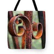 Rusty Curls Tote Bag