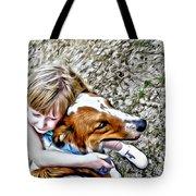 Rusty Dog Love Tote Bag