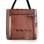 Rusty Door 1 Tote Bag